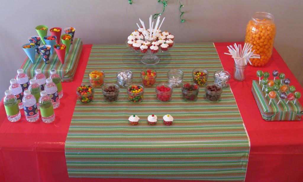 Cupcake Decorating Birthday Party