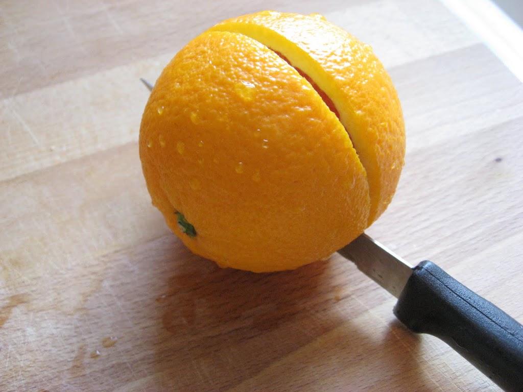 My Favorite Way To Cut An Orange