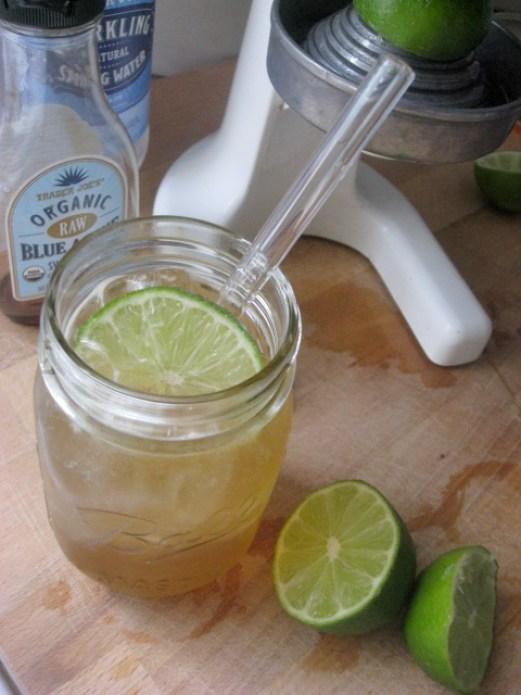 how to make fresh lime soda