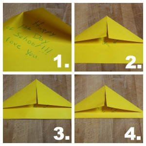 Steps for Making An Envelope Note