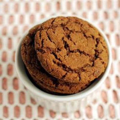 Soft ginger christmas cookies