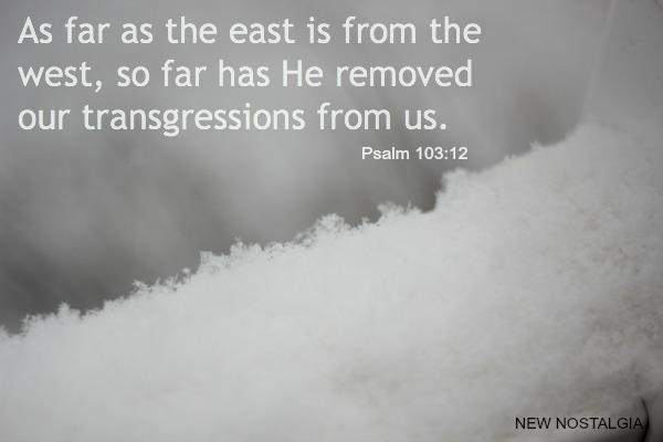 Psalm 103:12