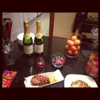 happy new year snacks