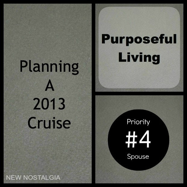 Planning a cruise