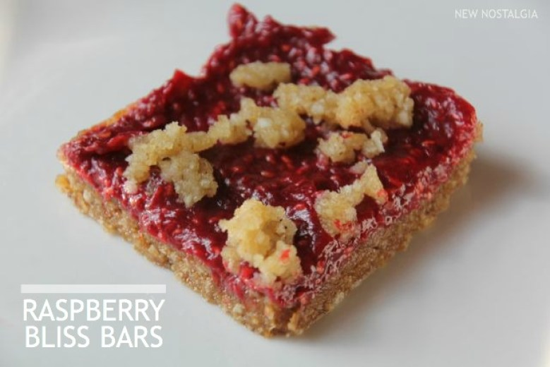 raspberry bliss bars