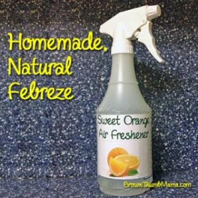 homemade natural febreeze