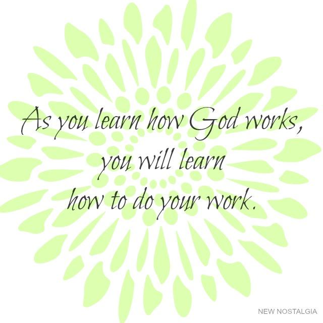 Inspiring verse