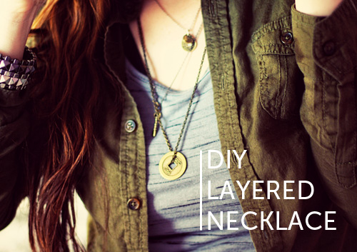 DIY Layered Necklace