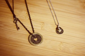 layering charm necklaces