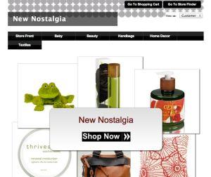New nostalgia custom boutique