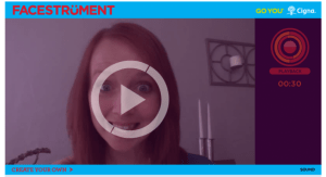 Facestrument video with Amy Bowman