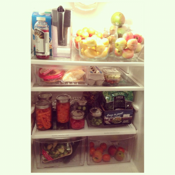 How to organize a refrigerator