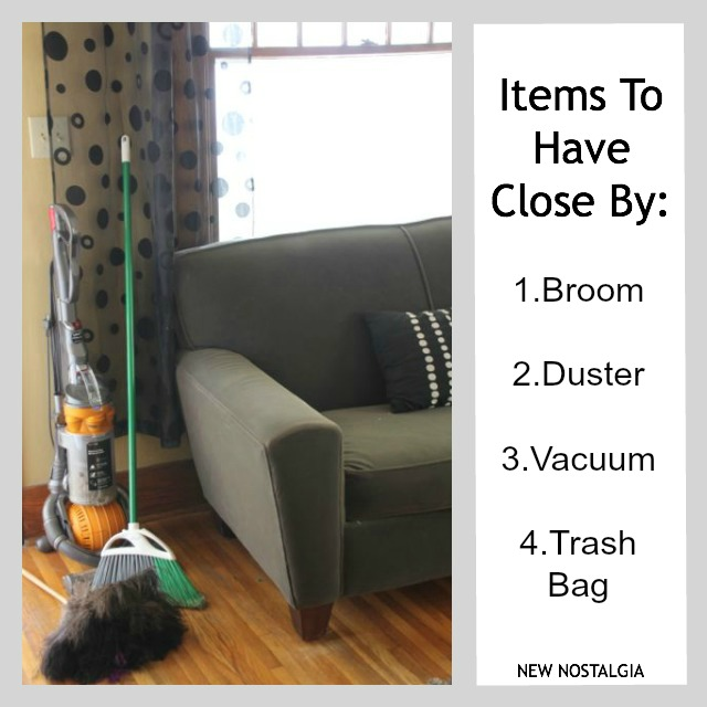 How to clean and minimize