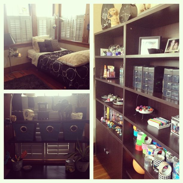 Crafty teens room