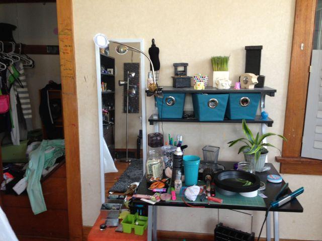 Messy teens room