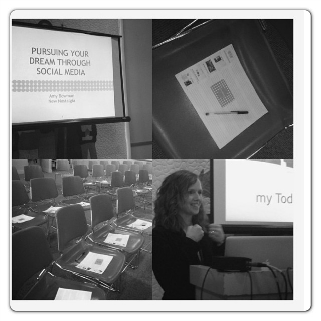 Amy Bowman Social Media Seminar