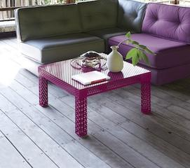 Rouge Coffee Table Novogratz Collection