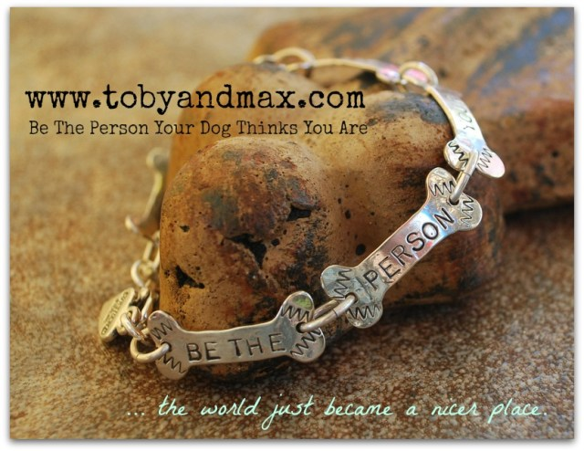 Toby and Max sterling silver link bracelet