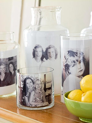 Photo on candles