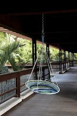 Indoor/Outdoor swing chair by Novogratz Collection