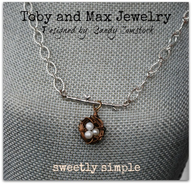 Sweetly simple necklace