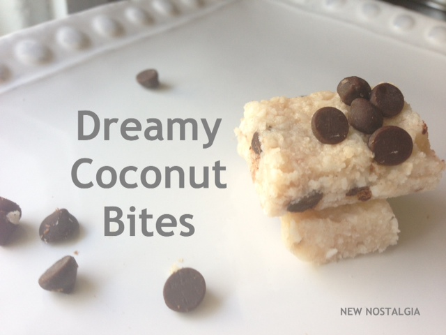 Dreamy coconut bites