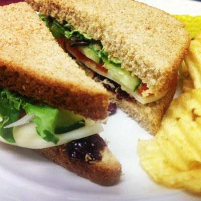 Heavenly Hummus Sandwich