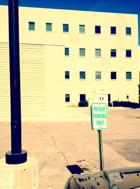 Patient Parking only Sign