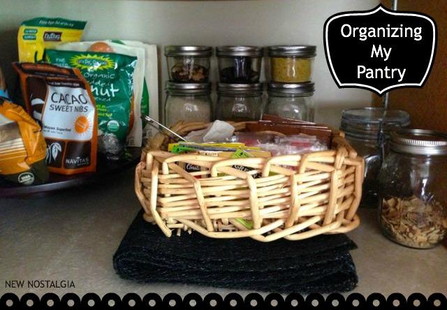 New Nostalgia's organized pantry