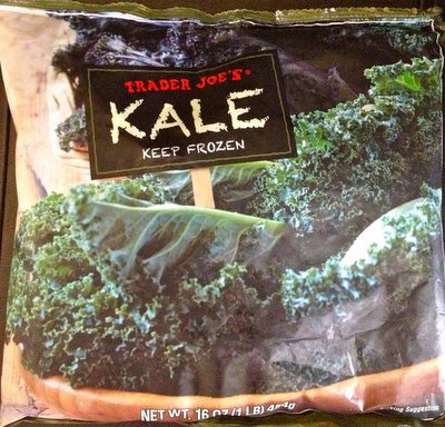 Trader Joe's frozen kale