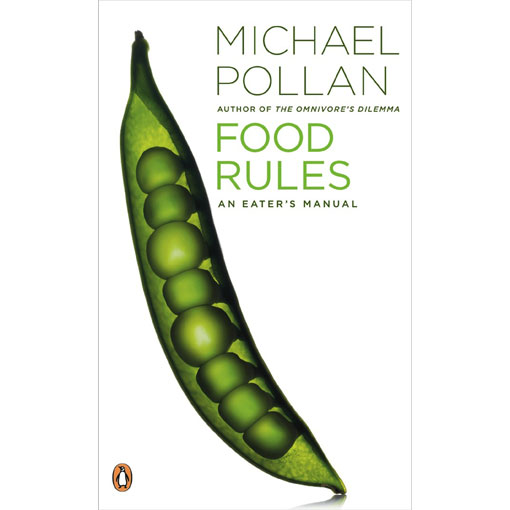 """Cover for Michael Pollan's book: """"Food Rules"""""""