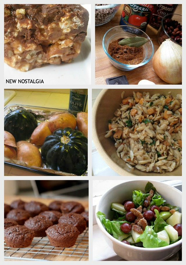 A collection of favorite fall recipes