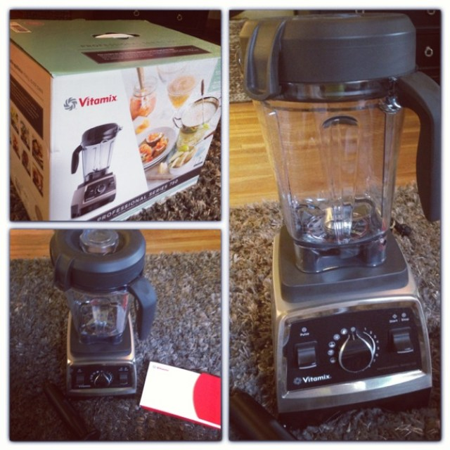 Vitamix blender and box