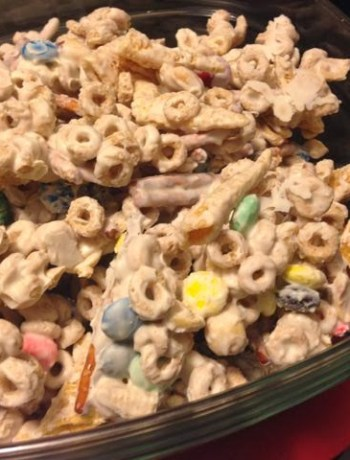 Superbowl Party Snack Mix