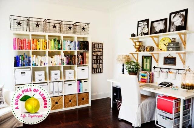 Office Storage Creative Ideas: 14 Office Spring Organization Ideas