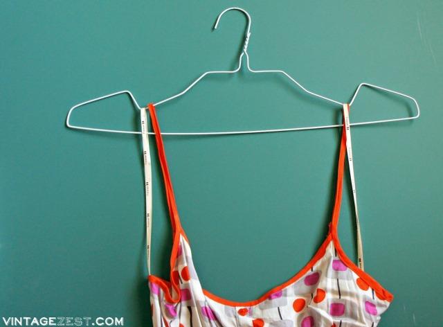 DIY No-Slip Hangers on Diane's Vintage Zest!  #free #organization #tip 8