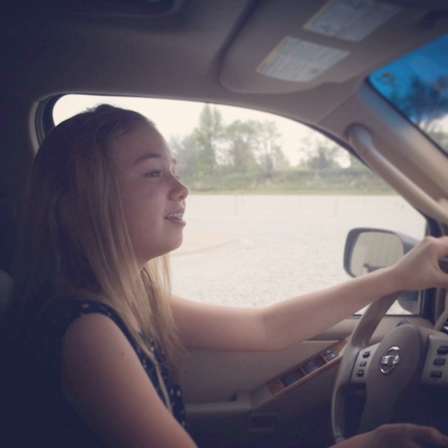 Teagan-Driving