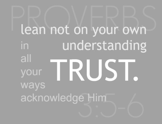 Trust with all your heart