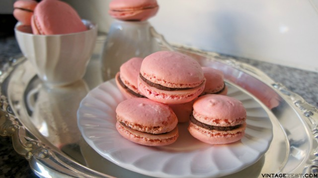 Peppermint Mocha Macarons recipe on Diane's Vintage Zest #ad #DelightfulMoments #CollectiveBias 17