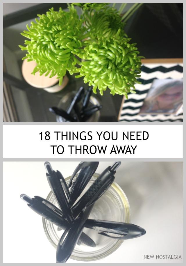 18 Things You Need To Throw Away