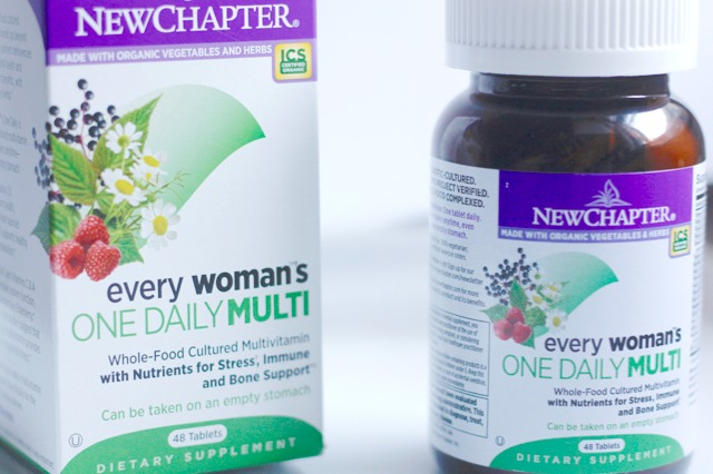 10 HEALTHY HABITS with New Chapter Vitamins