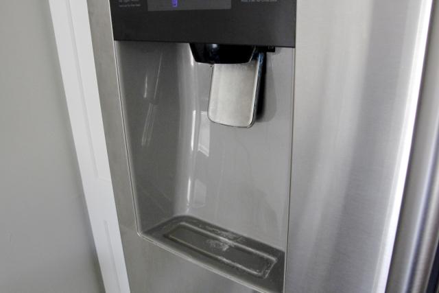 Calcium-deposits-ice-dispenser