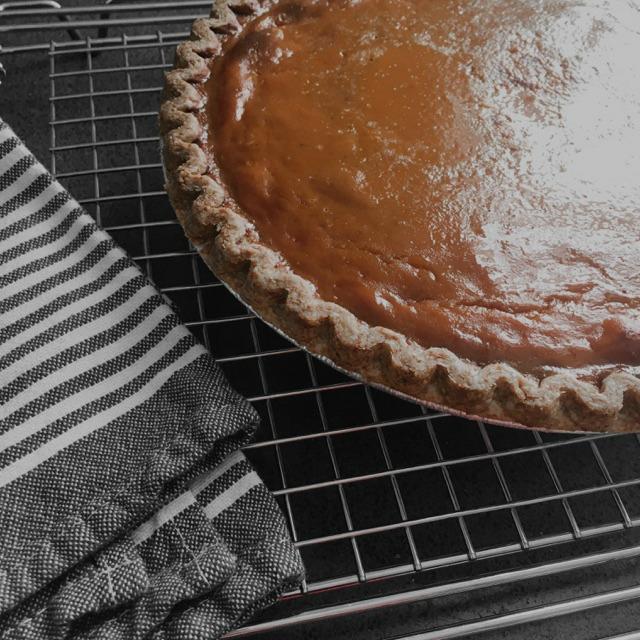 baked perfect pumpkin pie