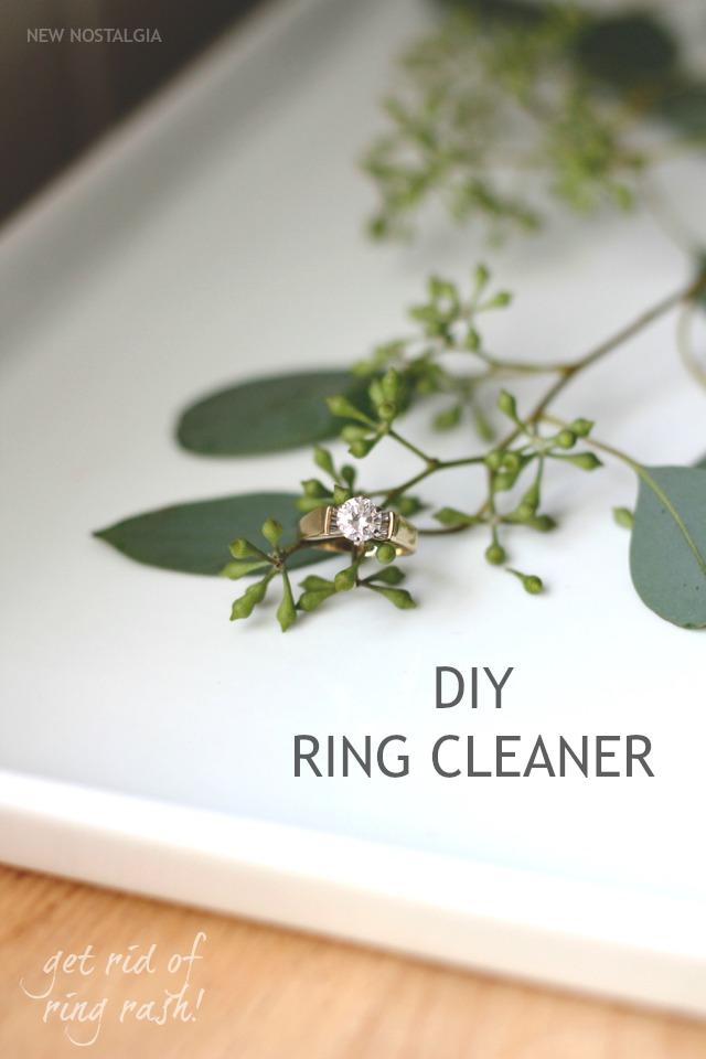 DIY Ring Cleaner