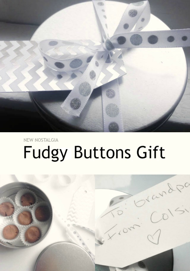 Fudgy Buttons Homemade Gift