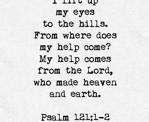 Help in Suffering