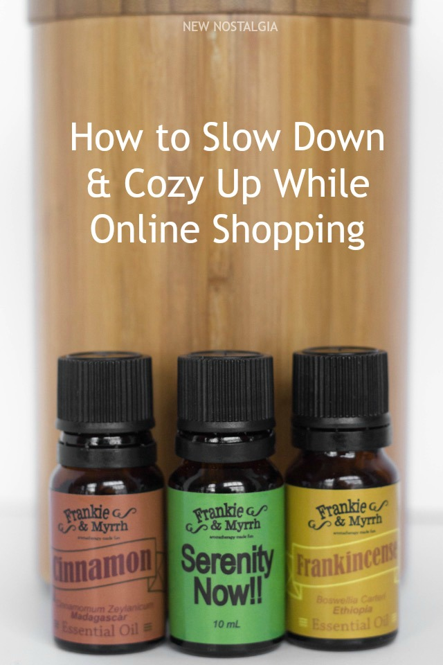 Ways to slow down and cozy up your space while online shopping