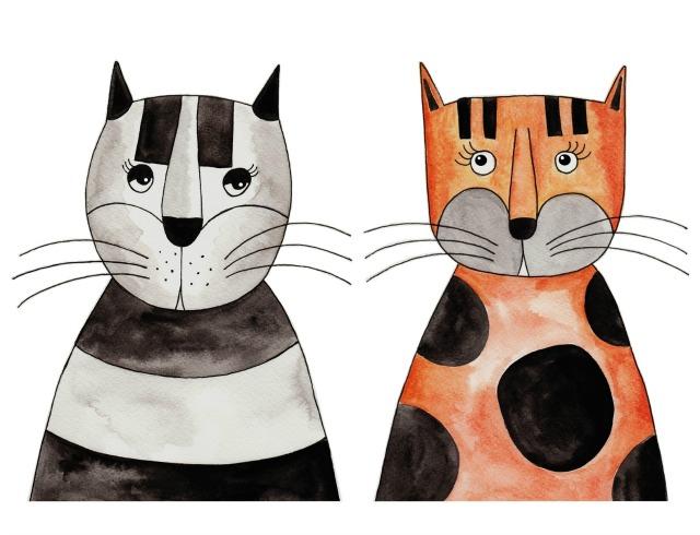 Stunning  CATS murals