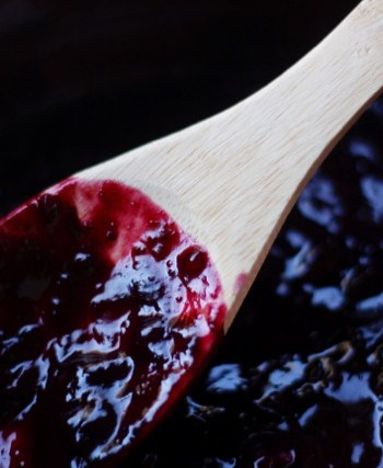 Blueberry Compote for Instant Pot Yogurt with Fruit On The Bottom