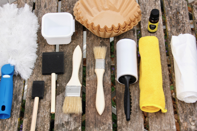Glove Compartment Car Cleaning Kit
